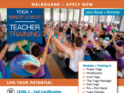 Level 1 Yoga Teacher Training - Essendon