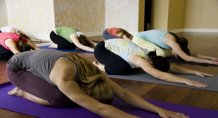 Yoga small group classes on Monday, Tuesday, Wednesday, Thursday nights & Saturday morning's!