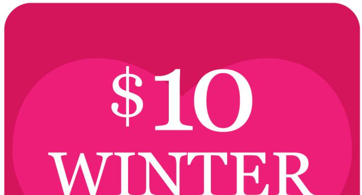 $10 Winter Heart-Warming Classes
