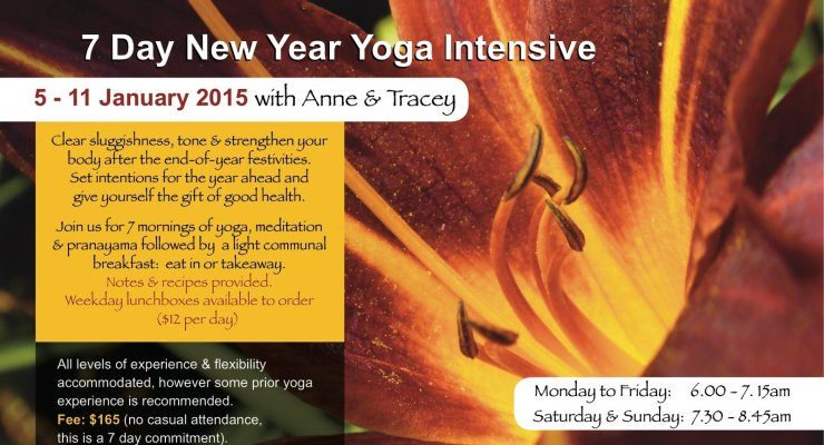 7 Day Japanese yoga intensive