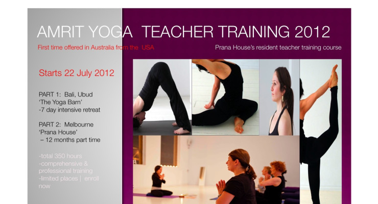 Amrit Yoga Teacher Training