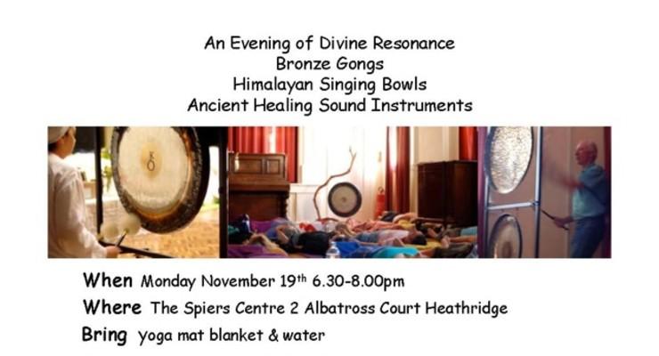 An evening of Divine Resonance