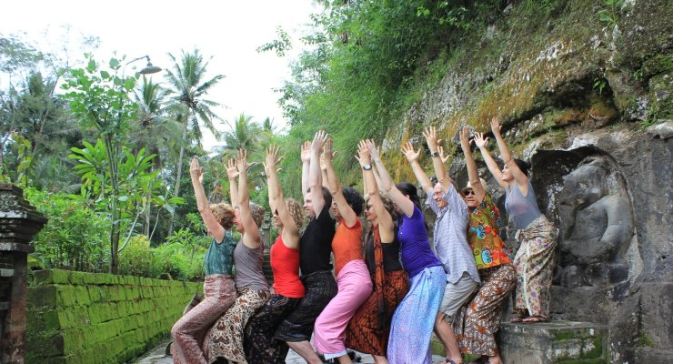 Annual Bali Yoga Retreat with Caroline Coggins