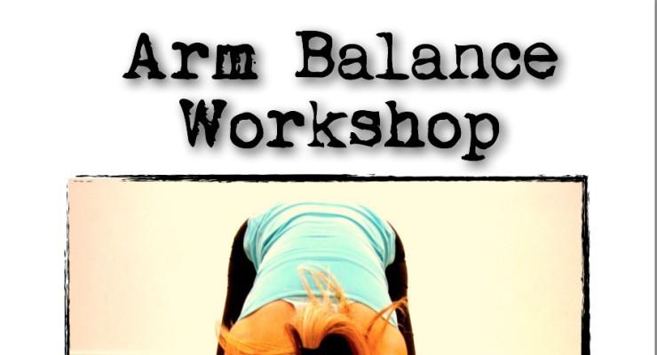 Arm Balancing Workshop