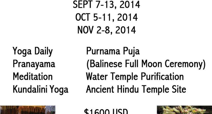 Bali Bhakti Yoga Retreat