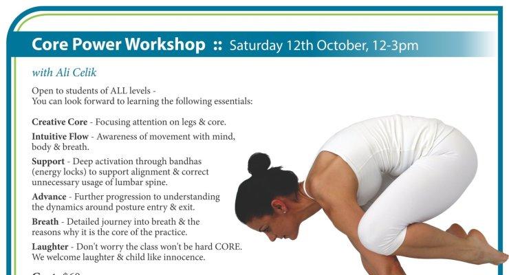 Core Power Yoga Workshop