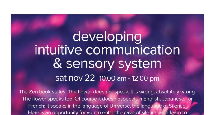 Developing Intuitive Communication - A Kundalini Yoga workshop with Yogi Amandeep Singh