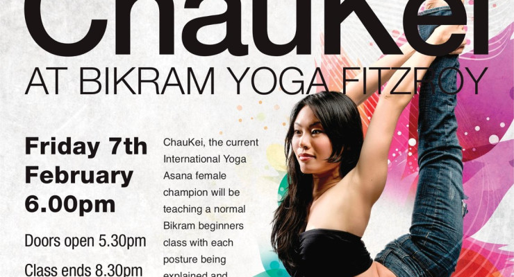 Extended Class with ChauKei Friday February 7th, 2014