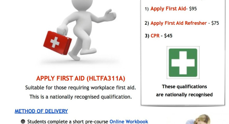 First Aid Certificate for Yoga Teachers