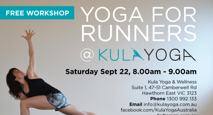 "Free ""Yoga for Runners"" Workshop"