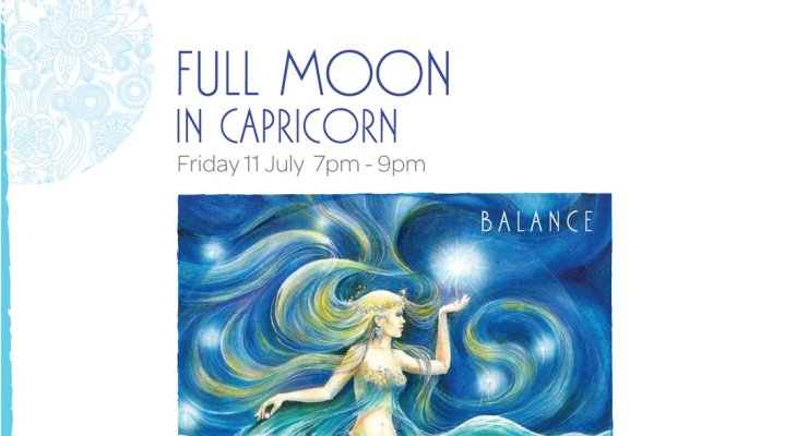Full Moon Meditation in Capricorn - Balance