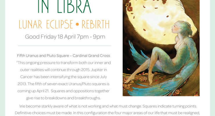 Full Moon Meditation in Libra - Lunar Eclipse - Rebirth
