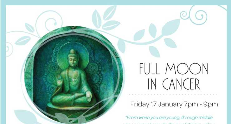 Full Moon Meditation in Cancer  - Awaken 2014