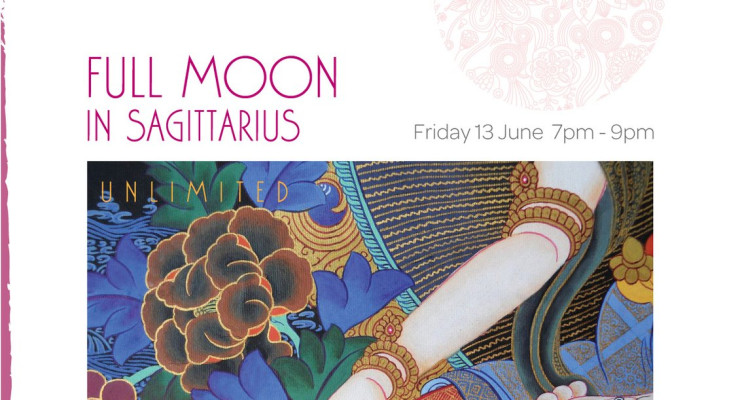 Full Moon Meditation in Sagittarius - Unlimited