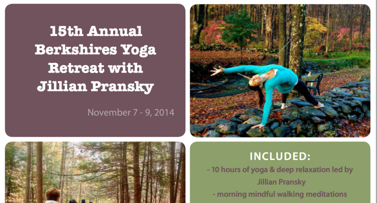 Get Grounded: Jillian Pransky's 15th Annual Yoga Retreat