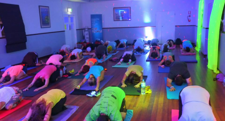 Glow With The Flow Yoga Workshop with Tammy Shemesh
