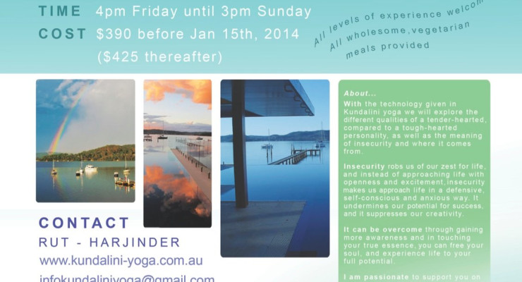 Kundalini Yoga Retreat - A Tender Heart