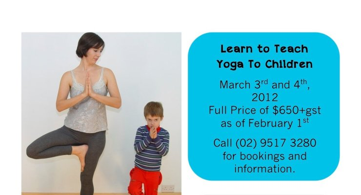 Mini Yogis - Yoga for Kids Teacher Training
