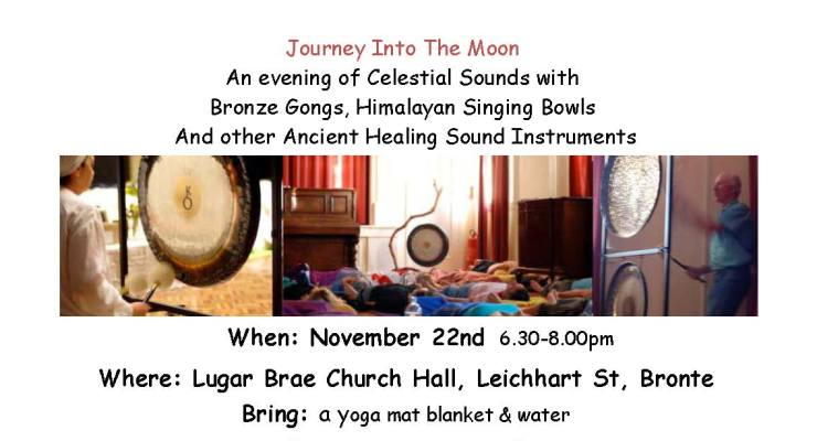 New Moon Cosmic Ocean of Sound healing meditation