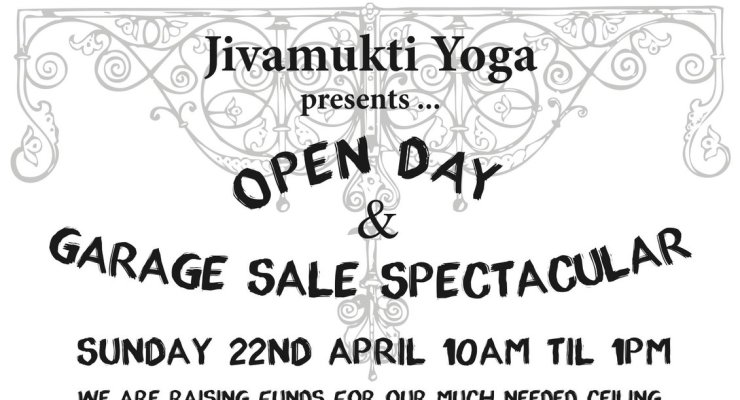 Open Day and Garage Sale!