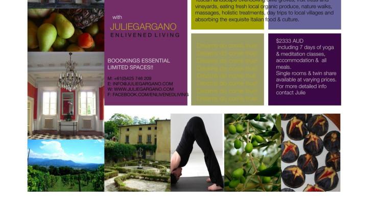 Tuscany Yoga & Holiday Retreat