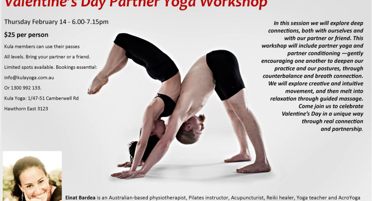 Valentine's Day Partner Yoga Workshop