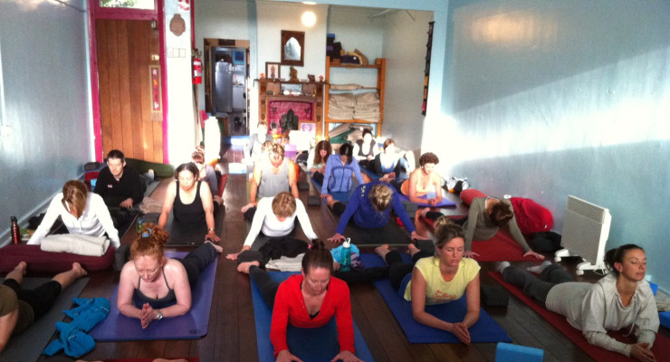 Yin Yoga Workshop with Fiona Galloway