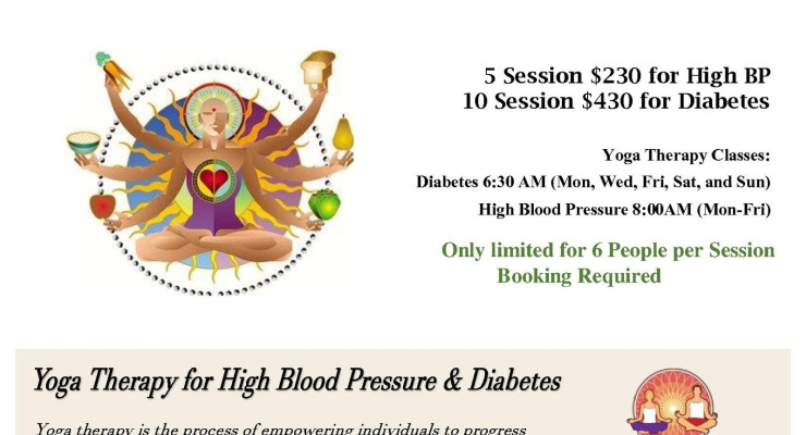 Yoga Therapy for High Blood Pressure