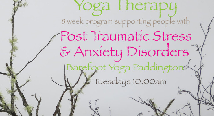Yoga Therapy for PTSD & Anxiety Disorders
