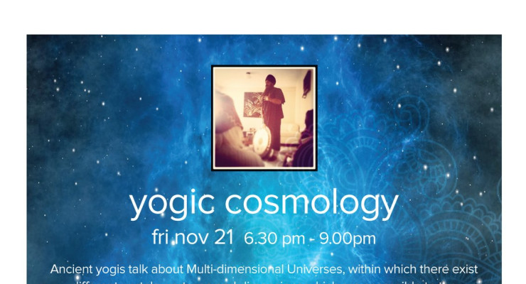 Yogic Cosmology - A Kundalini Yoga workshop with Yogi Amandeep Singh