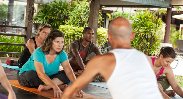 The Power of Being Present Through Yoga December 12-19, 2015 with Paul Chambers and Alison Chambers