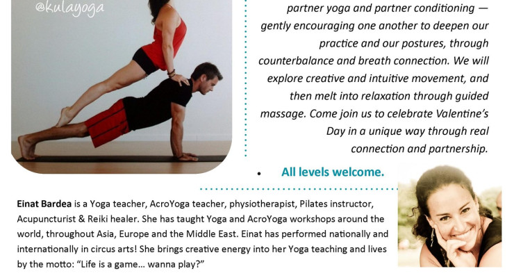 Valentine's Day Parnter Yoga Workshop