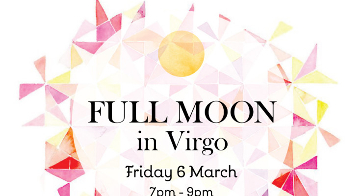 Compassion to heal with this Full Moon in Virgo
