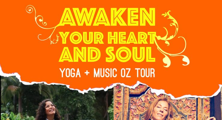 MELBOURNE - AWAKEN YOUR HEART AND SOUL YOGA + MUSIC OZ TOUR with Daphne Tse and Cristi Christensen
