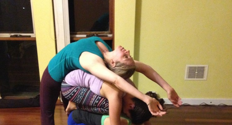 Acroyoga workshop - flying therapeutics & thai massage