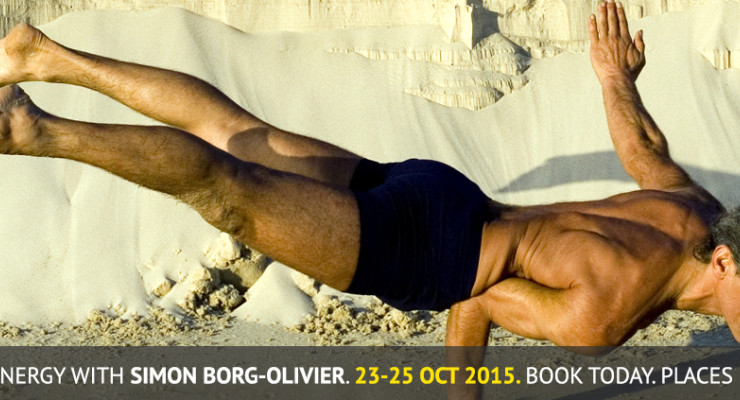Yoga Synergy with Simon Borg-Olivier 23-25 October 2015