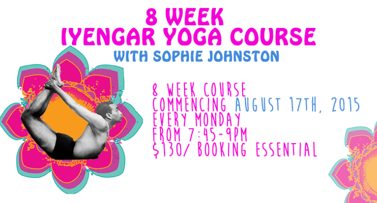 8 week course with Sophie Johnston