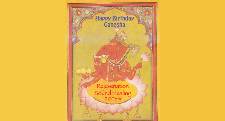 Rejuvenation Sound Healing : Ganesha's Birthday