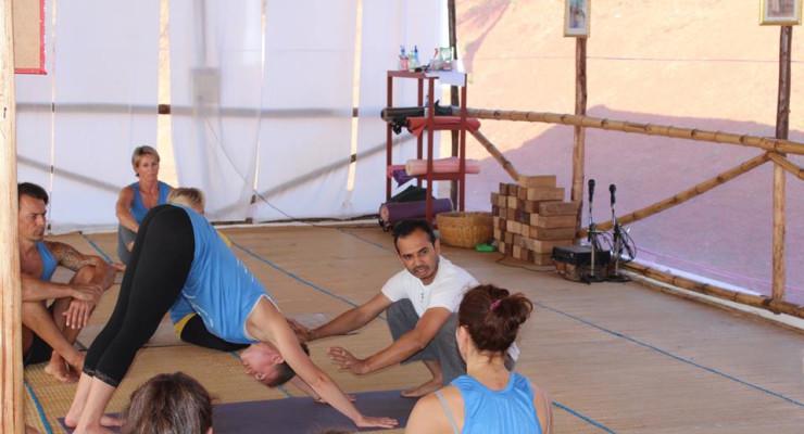 Yogacharya Lalit teaching 500hr Asana Workshop