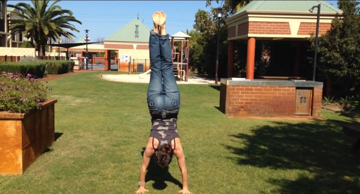 Inversions & hand balancing class