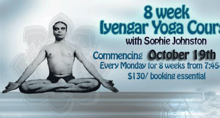 8-Week Iyengar Course with Sophie Johnston