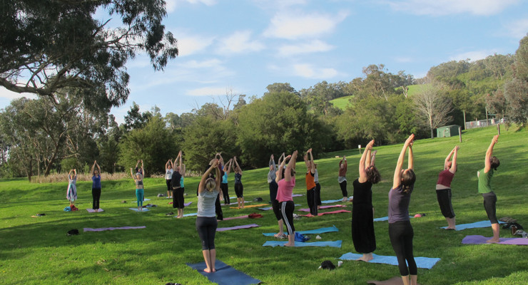 Spring Yoga Retreat in the lovely Yarra Valley