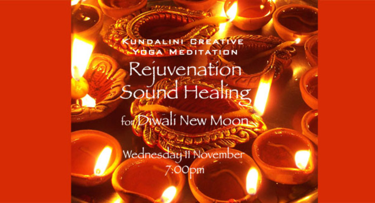 Rejuvenation Sound Healing for Diwali New Moon
