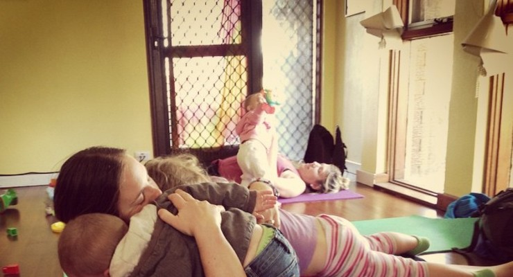 Mums n Bubs Yoga