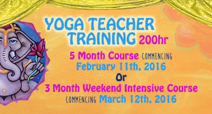 200hr Yoga Teacher Training 3 Month Weekend Intensive