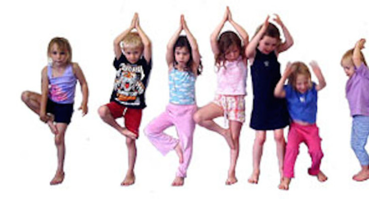 Learn to teach yoga to little kids