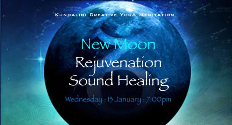 Rejuvenation Sound Healing : New Moon in Sagittarius