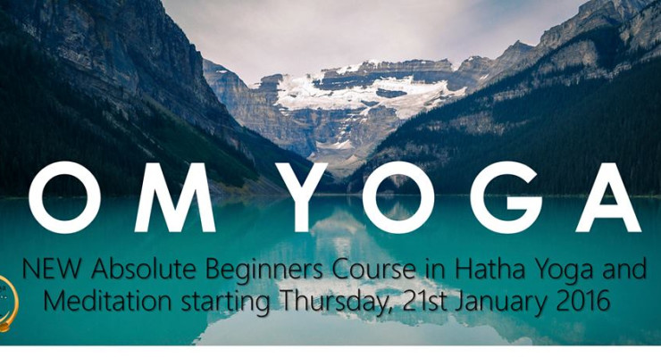 2nd Absolute Beginners Yoga Course,21st January,2016.Every Thursday 7.30-8.30 pm