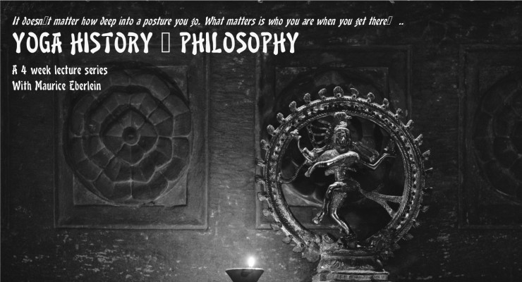 Yoga History and Philosophy course with Maurice Eberlein