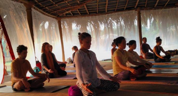 Yoga Synergy 4 Week teacher training in Goa, India 2016
